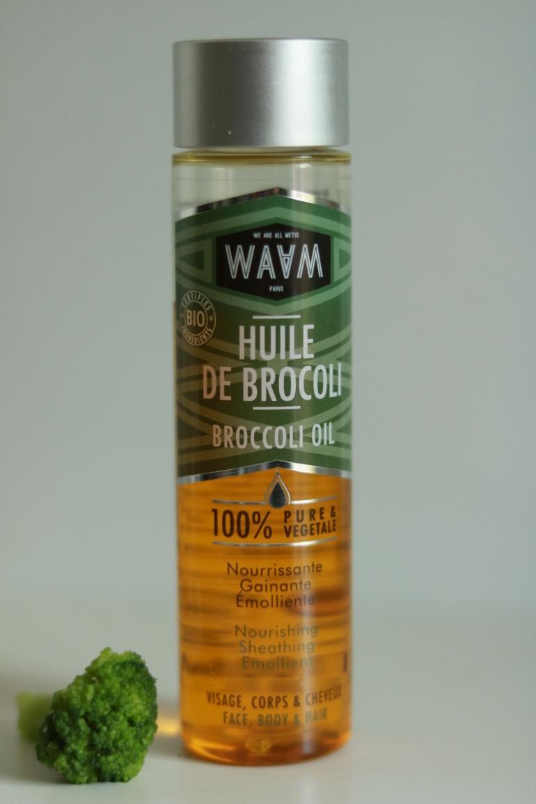 huile de brocoli de chez Waam