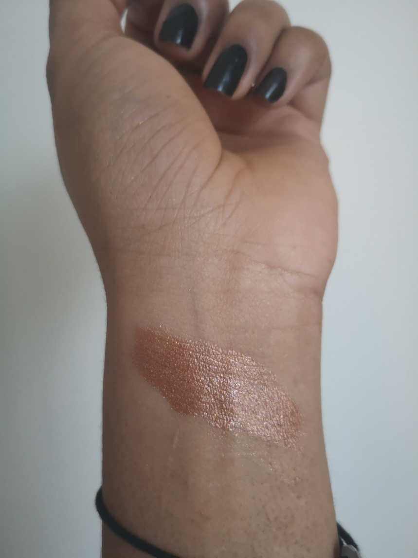 Swatches, highlighter naturel, highlighter maison